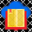 E Book Online Book Book Icon