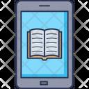 E Book Open Book Mobile Icon