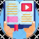 Education Virtual Learning Studying Icon