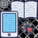 E Book Reader Smartphone Mobile Icon