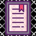 E Book Reader Ebook Online Icon