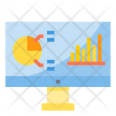 E Business Online Graph Analysis Icon