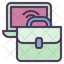 Business Bag Computer Icon