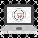 Online Shopping Internet Buying E Commerce Icon