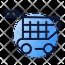 Ecommerce Basket Online Icon