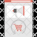 E Commerce Ad Advert Digital Marketing Icon