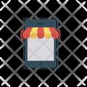 E Commerce Online Mobile Icon
