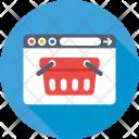 Ecommerce Website Basket Icon