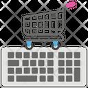 Ecommerce Online Shopping Shopping Cart Icon
