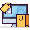 E Commerce Online Business Icon
