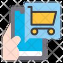 E Commerce Application Shopping Application Shopping Cart Icon