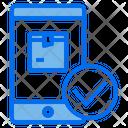 Smartphone Logistics Ecommerce Icon