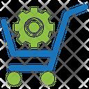 E-commerce optimization Icon