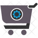 E Commerce Solution Ecommerce Gear Icon