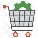 E Commerce Solution Seo Icon