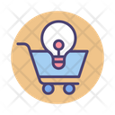 E Commerce Solutions Trolley Shopping Icon