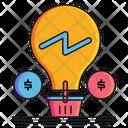 E Commerce Solutions Idea Solutions Icon