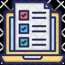 E Doc Online Checklist Online Todo List Icon
