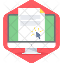 E Document Icon
