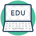 Online Education Distance Icon
