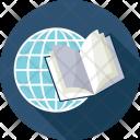 Book Globe Map Icon
