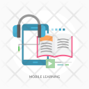 Mobile Learning Education Icon
