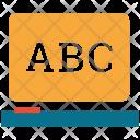 E Learning Abc Writing Icon
