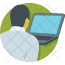 E Learning Laptop Icon