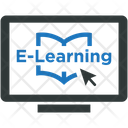 E Learning Education Online Icon