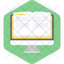 Book Computer Education Icon