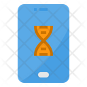 Science Smartphone Dna Icon
