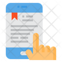 Study Ebook Smartphone Icon
