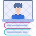 Online Learning E Learning Education Icon