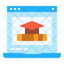 Education Online Degree Icon