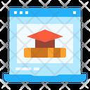 Education Online Degree Icon