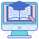 E Learning Online Learning E Books Icon