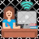 Students Exam Online Icon