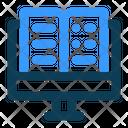 E Learning Computer Ebook Icon