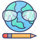 E Learning Virtual Reality Vr Icon