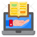 Book Online Education Icon