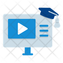Elearning Learning Course Icon