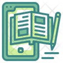 Diary Notebook Paper Icon