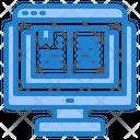 Book Computer Online Icon