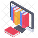 Online Library Online Bookstore Digital Library Icon