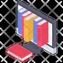 E Library Icon