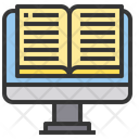 E library book Icon