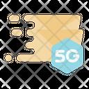 E Mail 5 G Signal Icon