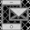 Mobile E Mail Icon