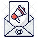 E Mail Marketing Email Newsletter Icon