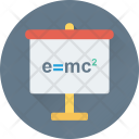 E=mc2 Formula Icon